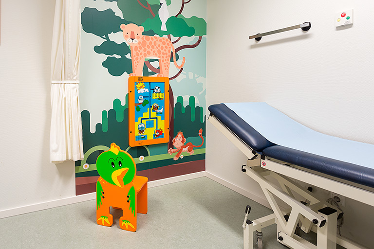 Maasstad hospital treatment room | IKC Healthcare