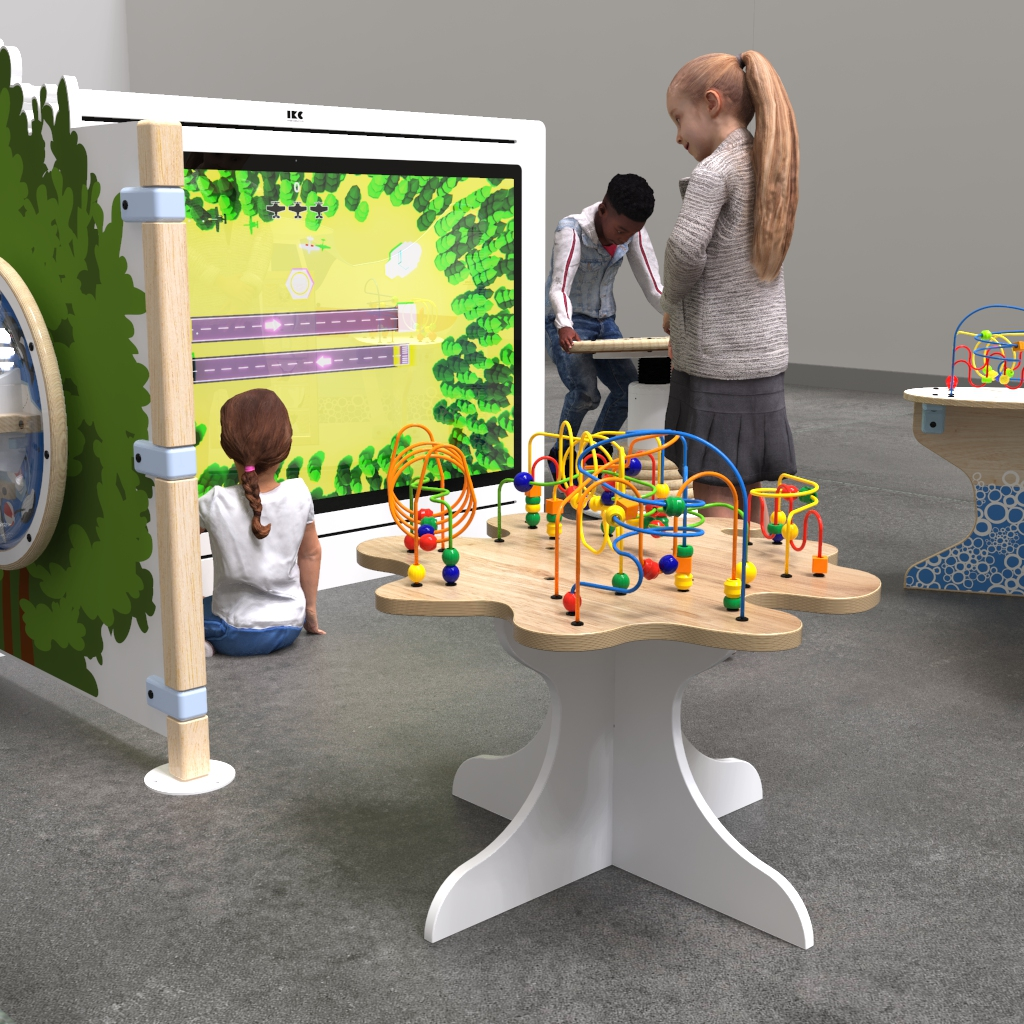 This image shows playhouse arctic XL interactive