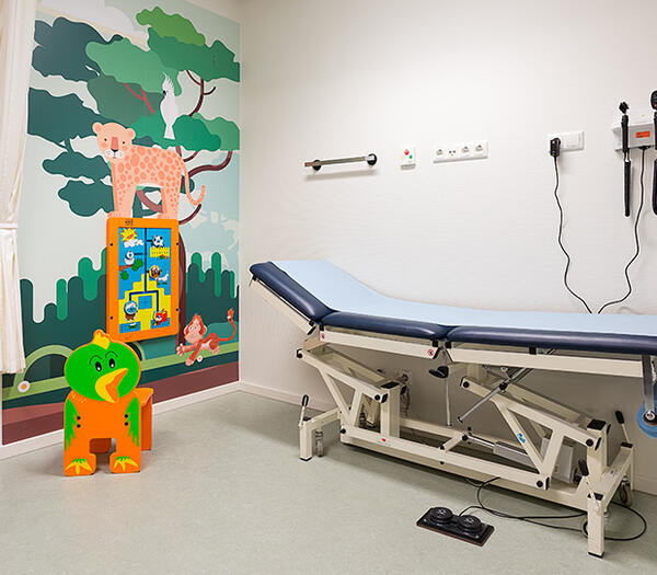 Kids area in hospitals | IKC Healthcare