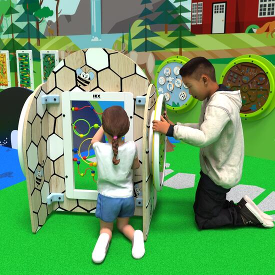 This image shows a play system honey play
