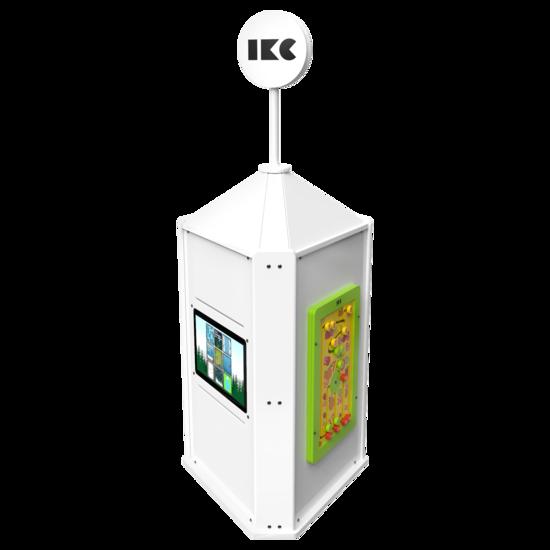 Interactieve speeltoren voor een kinderhoek met meerdere spellen interactief  | IKC speelsystemen