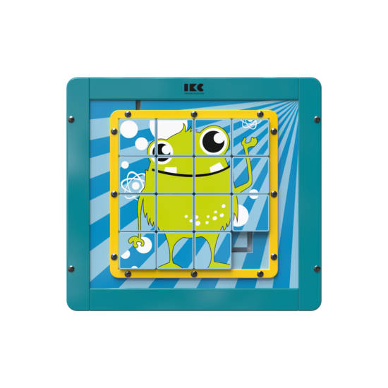 Houten schuifpuzzel voor kinderen   IKC wandspellen en muurspellen voor kinderen