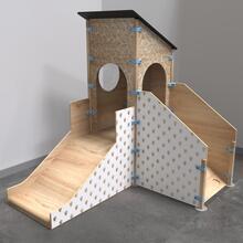 Op deze afbeelding staat speelhuisje Watchtower